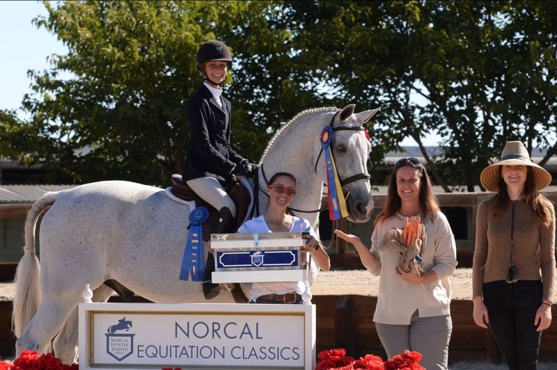 Emma Symon - 2016 Champion NorCal Eq Classic 11 & Under