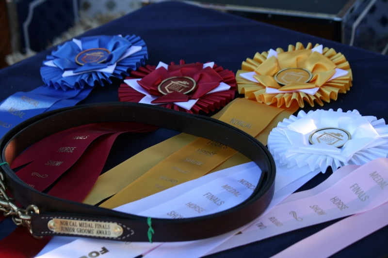 NorCal Medal Finals Prizes and ribbons