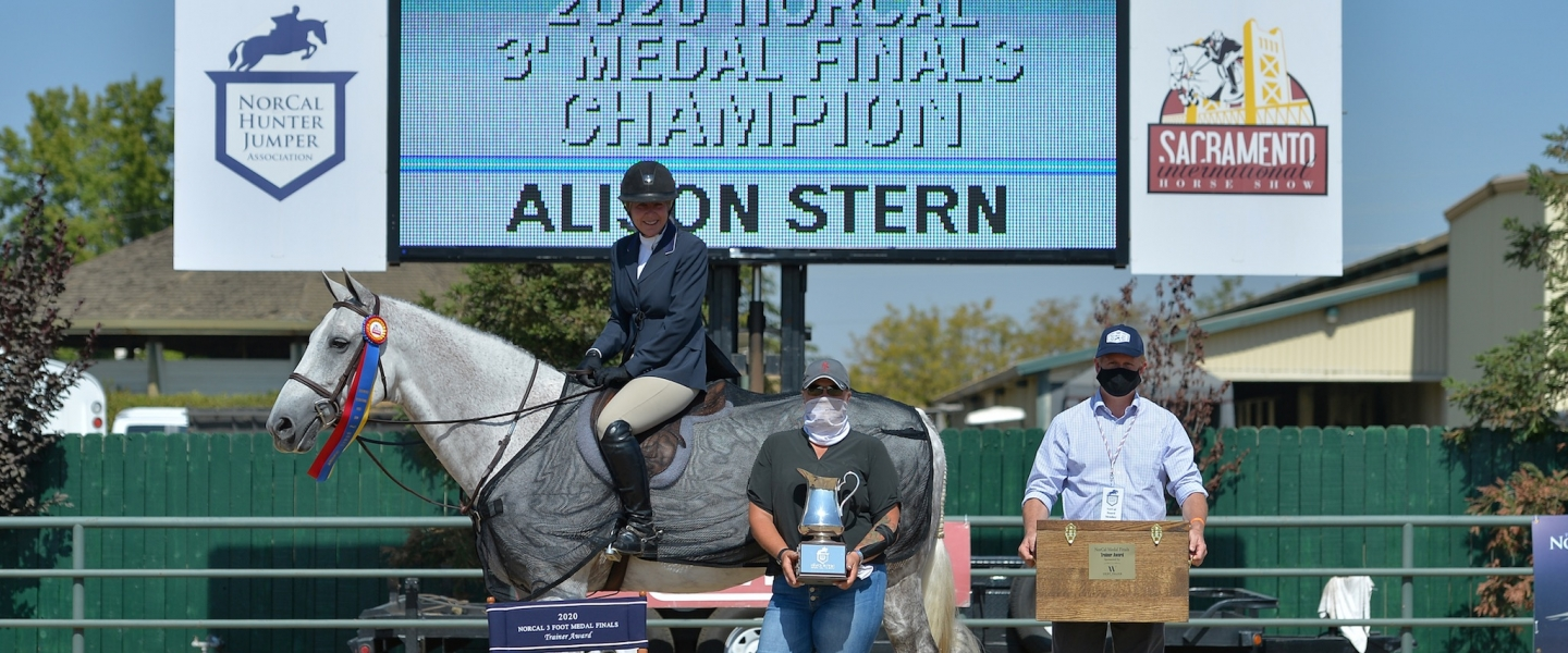 NorCal 3' Medal Finals Winner - Alison Stern
