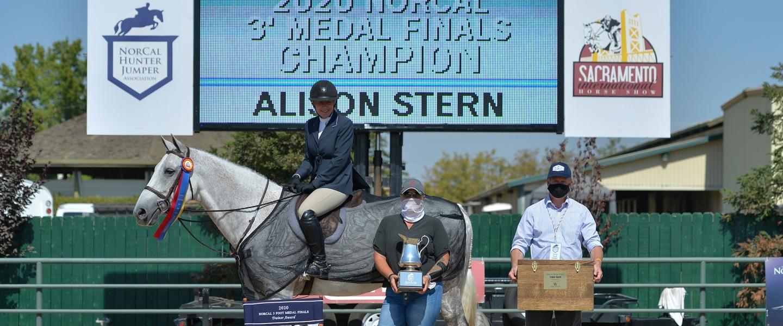 NorCal 3' Medal Finals Winner - Alison Stern
