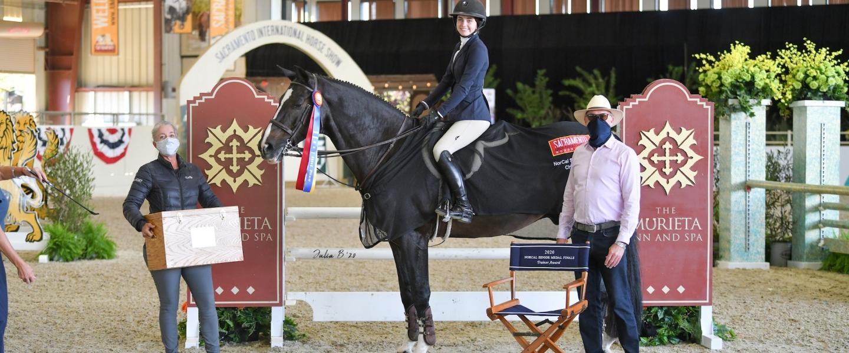 NorCal Sr Medal Finals Winner - Kiera Hennigan