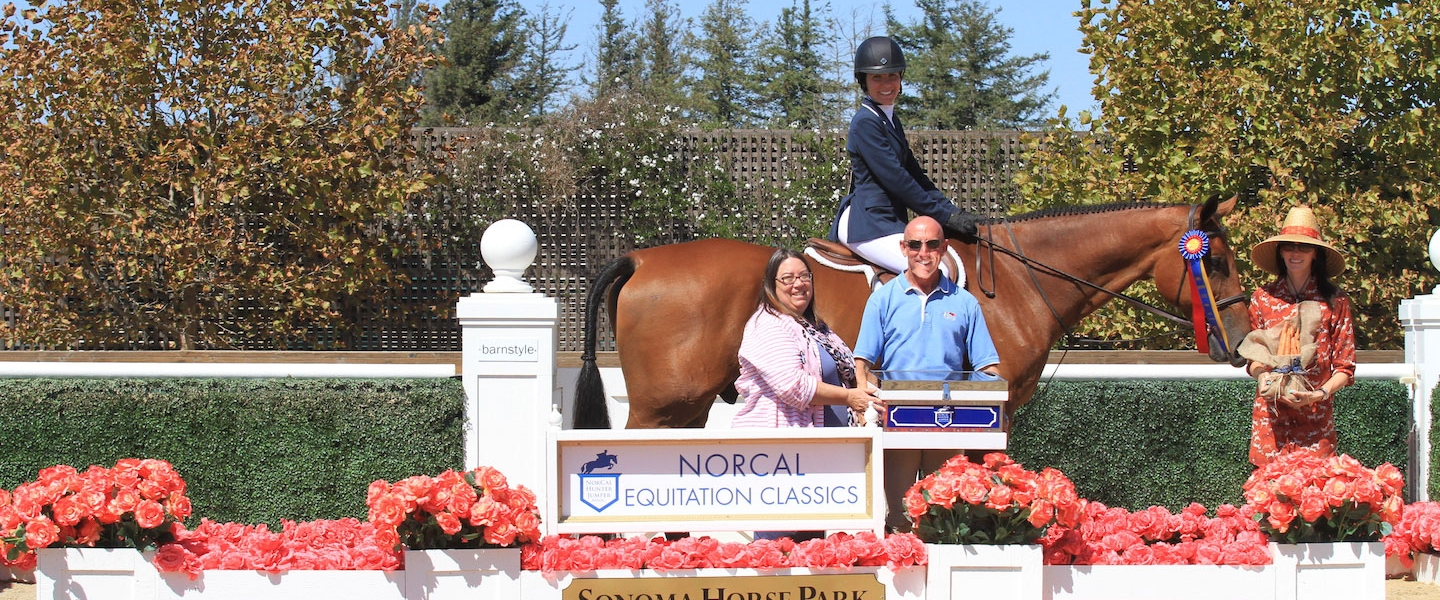 Laura Owens - Champion - 2016 NorCal Eq Classic 18-35