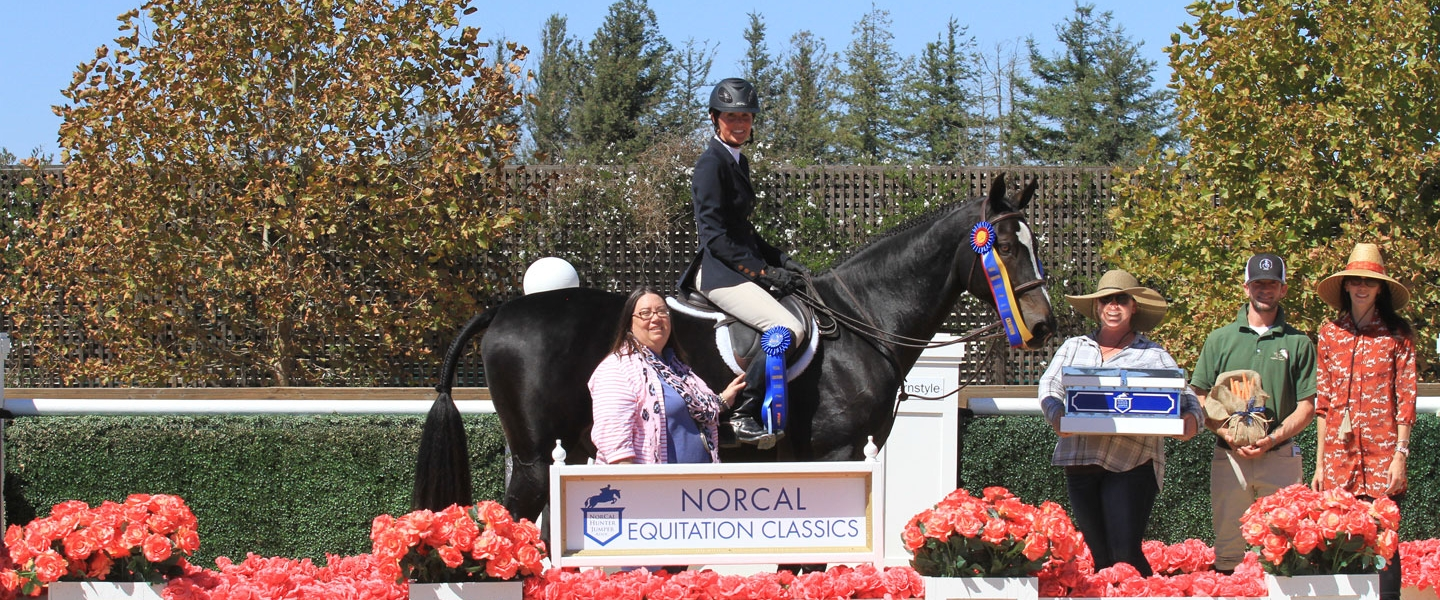 Jane Thornton - Champion - 2016 NorCal Eq Classic 36+